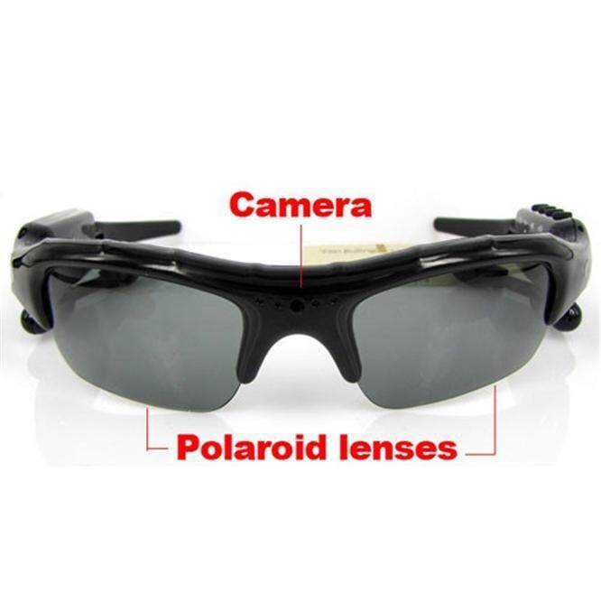 Pinhole Video Recorder DVR MP3 Sunglasses