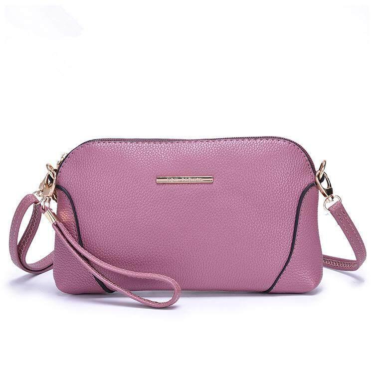 Tas wanita selempang musim panas tas kecil 2018 model baru Gaya Korea tas  kulit kerang All c8749a2308