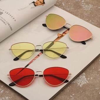 Price Checker Qimiao Kacamata untuk Pria Wanita Mata Kucing Cermin Lensa  Datar Kacamata Hitam Retro untuk 2bb3ac4012