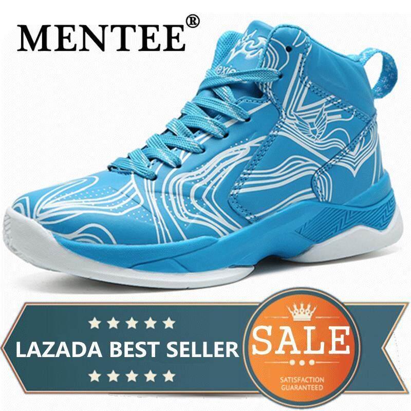 Mentee Ukuran 29-38 Anak Laki-laki Sepatu Basket untuk Outdoor Menjalankan  Berjalan Anak 9d5b062394