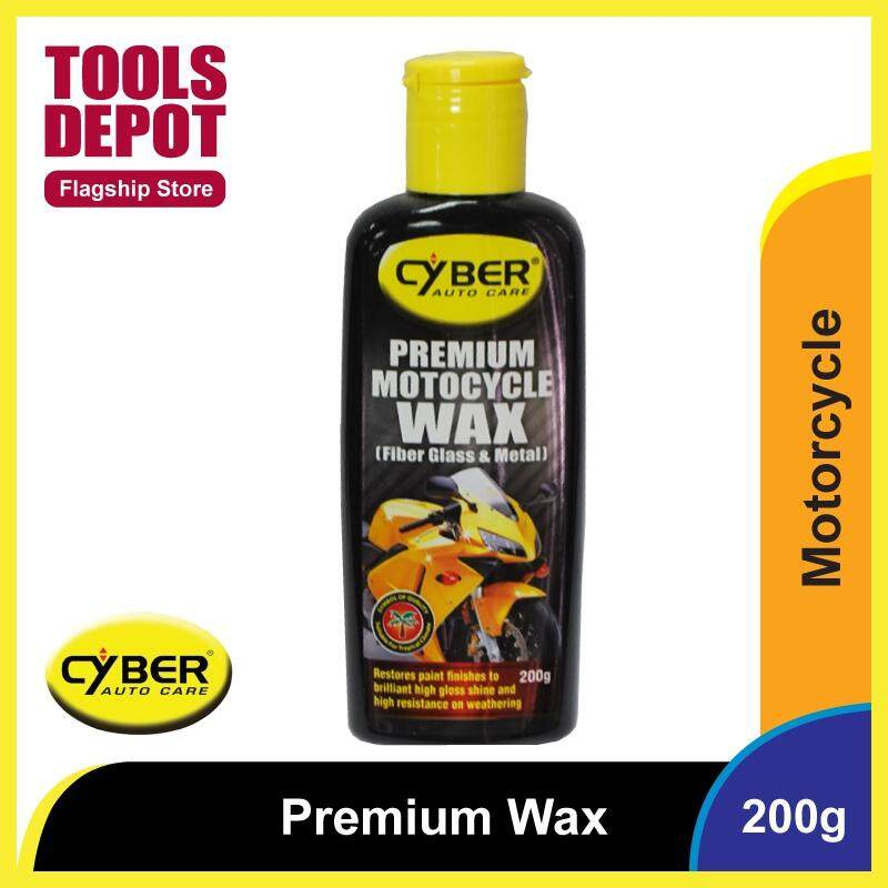 Cyber Premium Motorcycle Wax (200g)