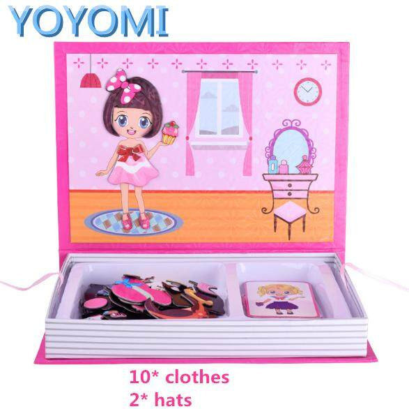 Yoyomi Magnetic Dress-Ups Pretended Playing Set Toys Gift Toy (fashion Models) By Yoyomi.