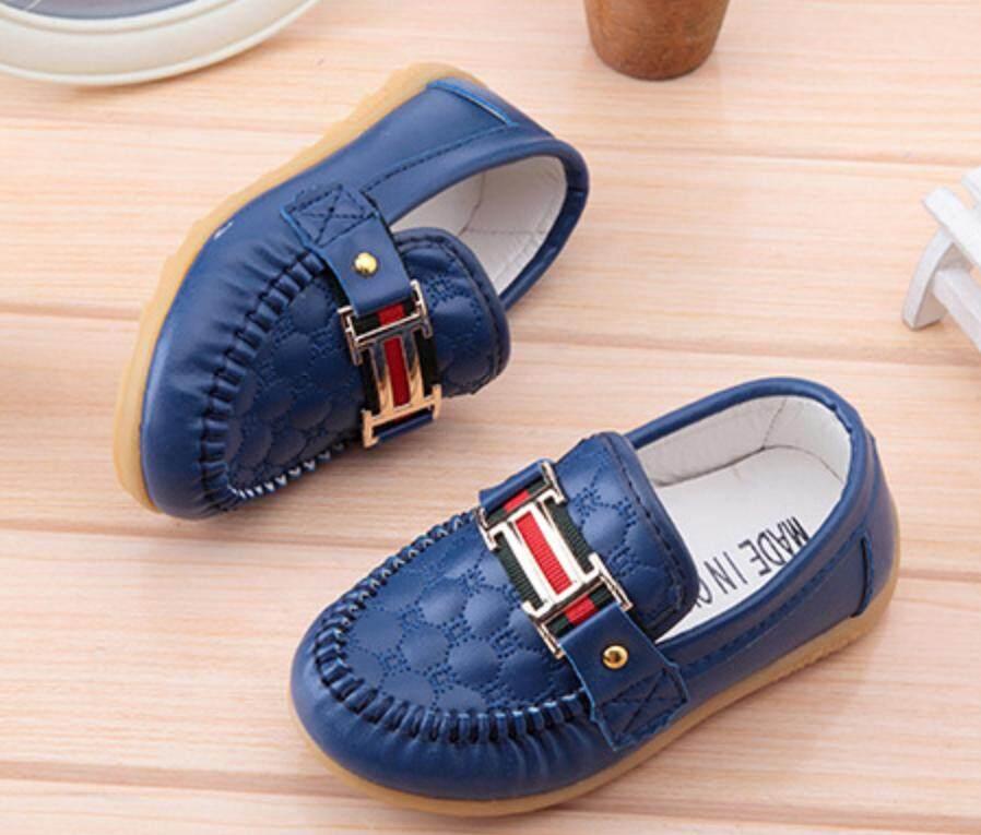 Anak-anak Peas Sepatu Sepatu Anak Anak Tendon Lembut Anti Selip Sepatu Bayi Longgar-Internasional - 4