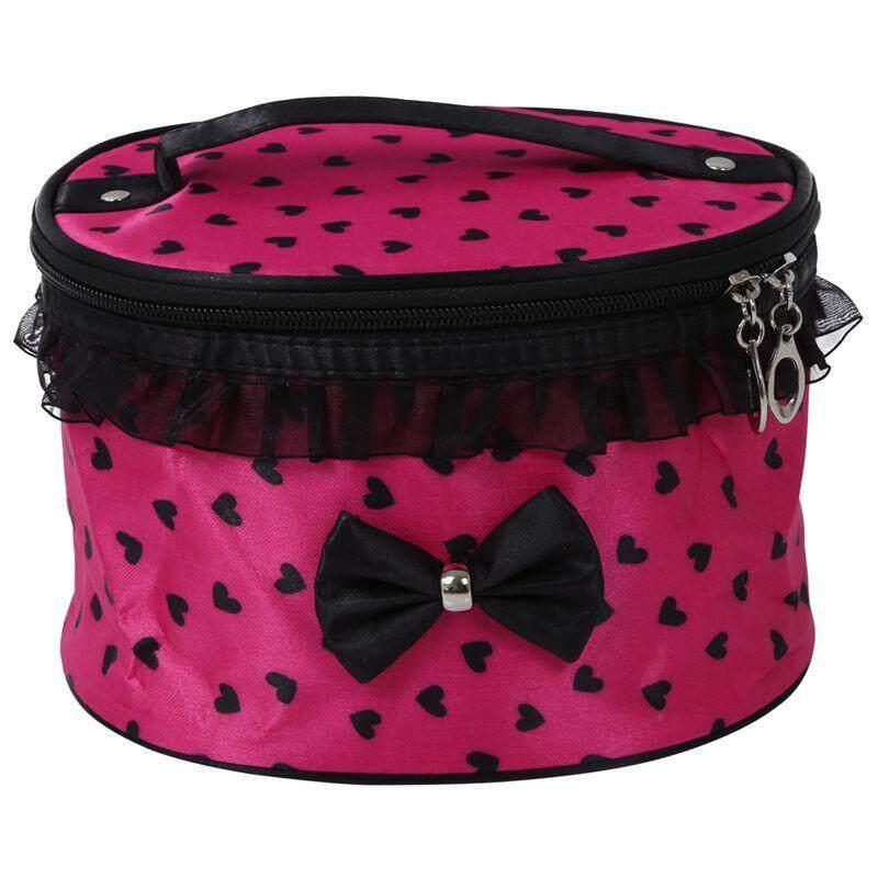 Beau Tas Kosmetik Cosmetic Bag Zero Volcadot 1058 Cream Red Krem Merah. Source · Women Cosmetic Bag Travel Makeup Make up Storage Organizer Box Beauty Case- ...