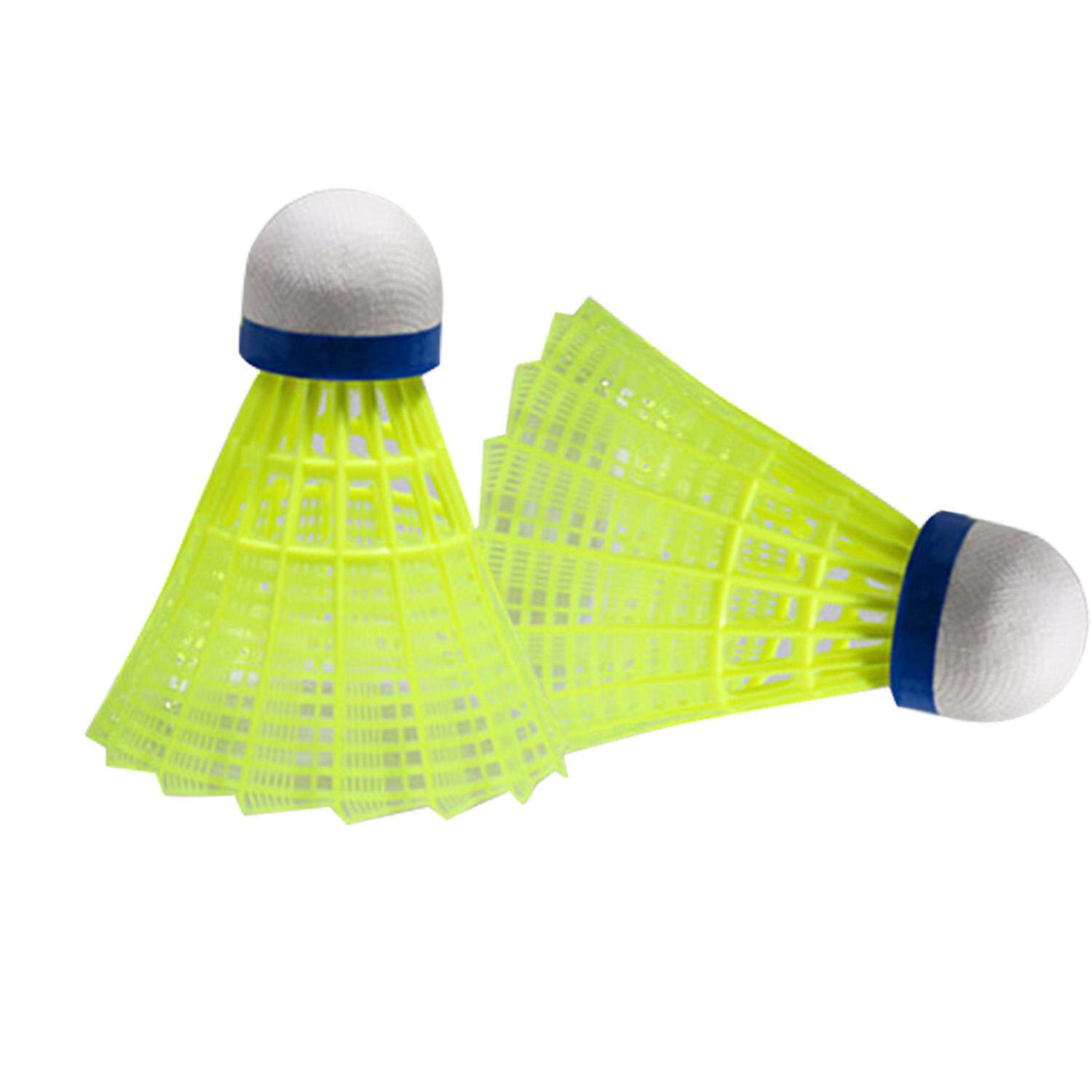 6pcs Flight Steady Balance Badminton Shuttlecocks For Indoor Outdoor Exercise Sports Training Games Yellow By Vococal Shop