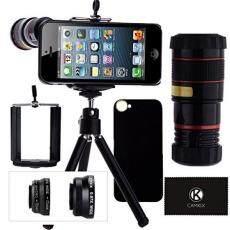 Lensa Kamera Peralatan untuk I Phone SE/5 S/5 Termasuk 8X Lensa Telefoto