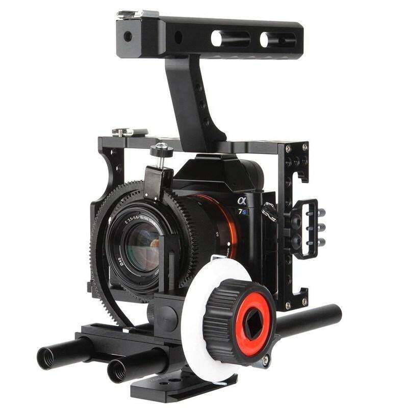 Dxy Commlite CS-FO Ildc Kamera Mengikuti Fokus dengan Lensa Cincin Gigi Belt untuk Sony A7 A7II A7R A7S A7RII A7SII untuk Panasonic GH4 Kamera Kamera Mirrorless-Intl