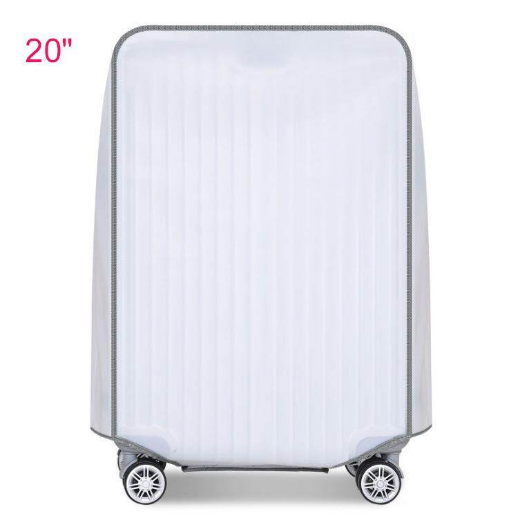 Universal Waterproof Translucent PVC Luggage protectors & covers 20 inch