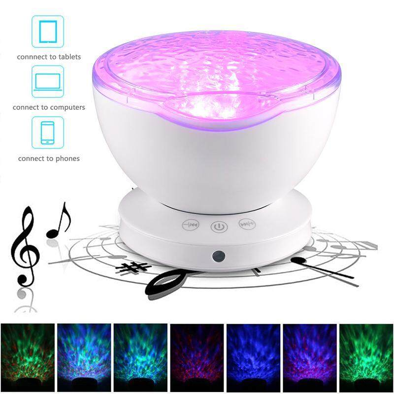 Chiants Multifunctional Sleepless Ocean Night Sky Music Projector With Music Player