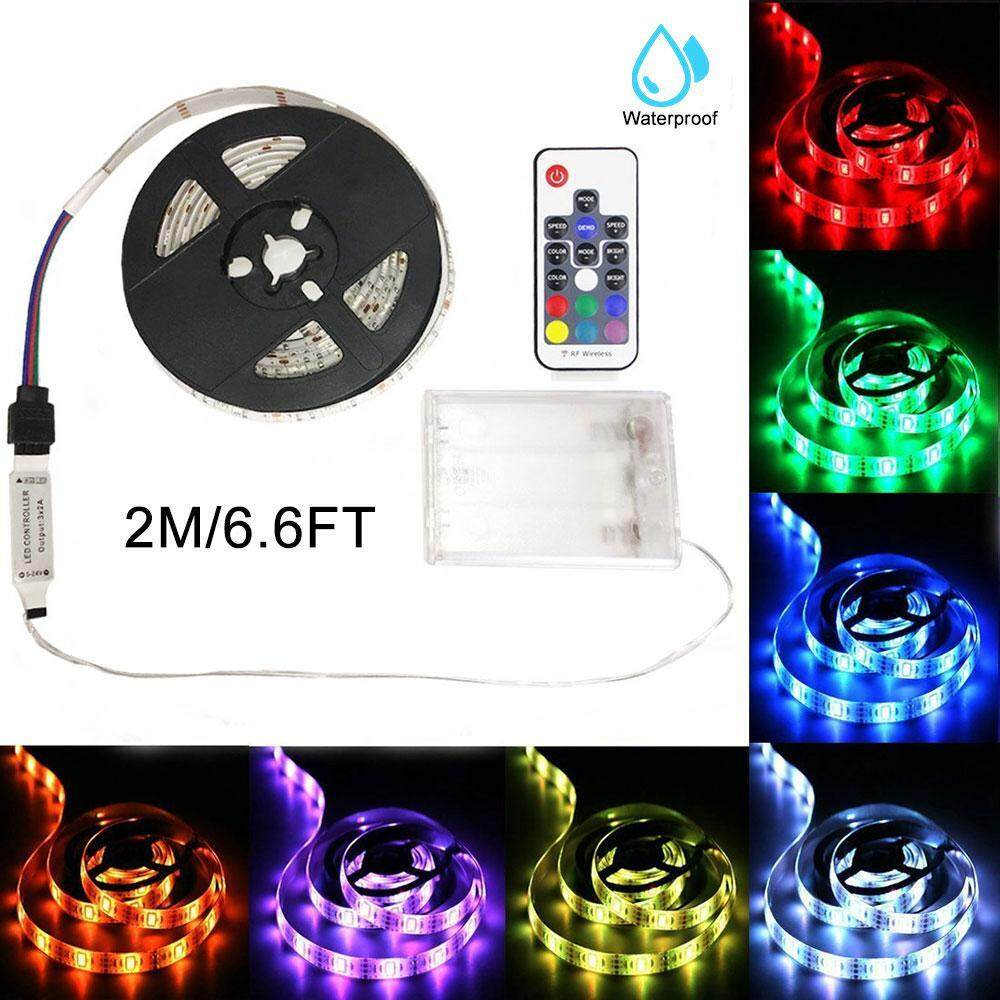 Home Led Strip Lighting Buy At Best Price Rgb Controller For Strips With Rf 20 Keys Remote Control Womdee Lights Controlled Multi Color Changing Diy Indoor