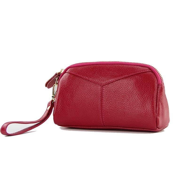 2018 Ibu Tas Genggam banyak lapis Kapasitas Besar casual HP genggam tas genggam kecil wanita Tas tangan tas kulit kerang