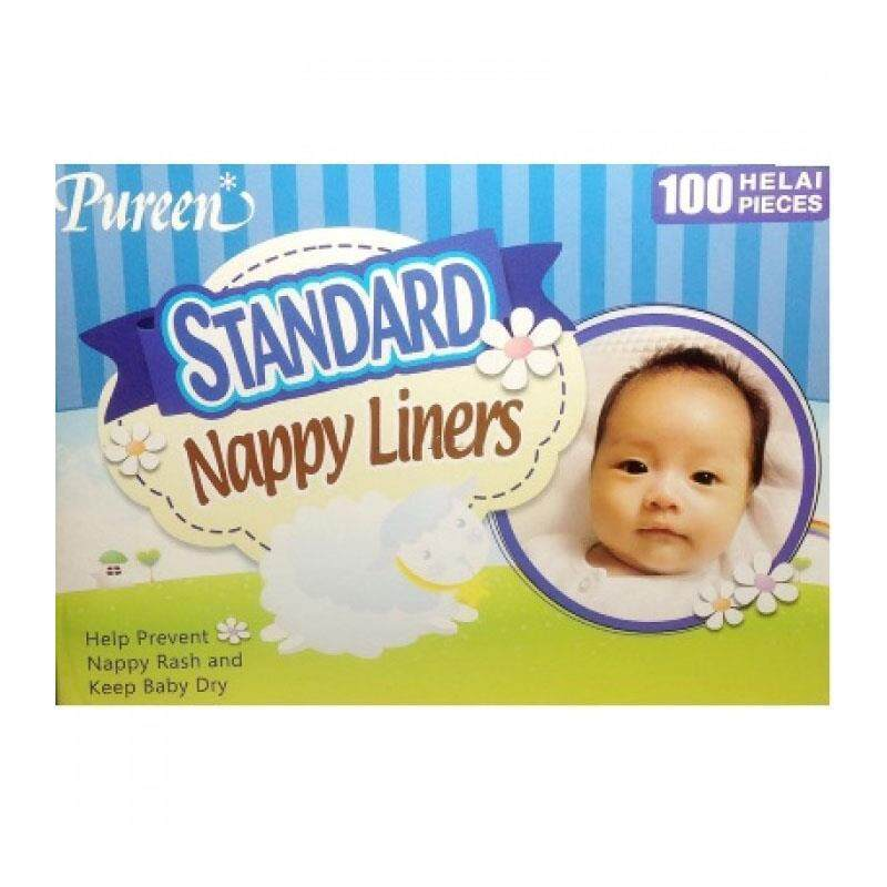 Pureen Standard Nappy Liners 100 pcs