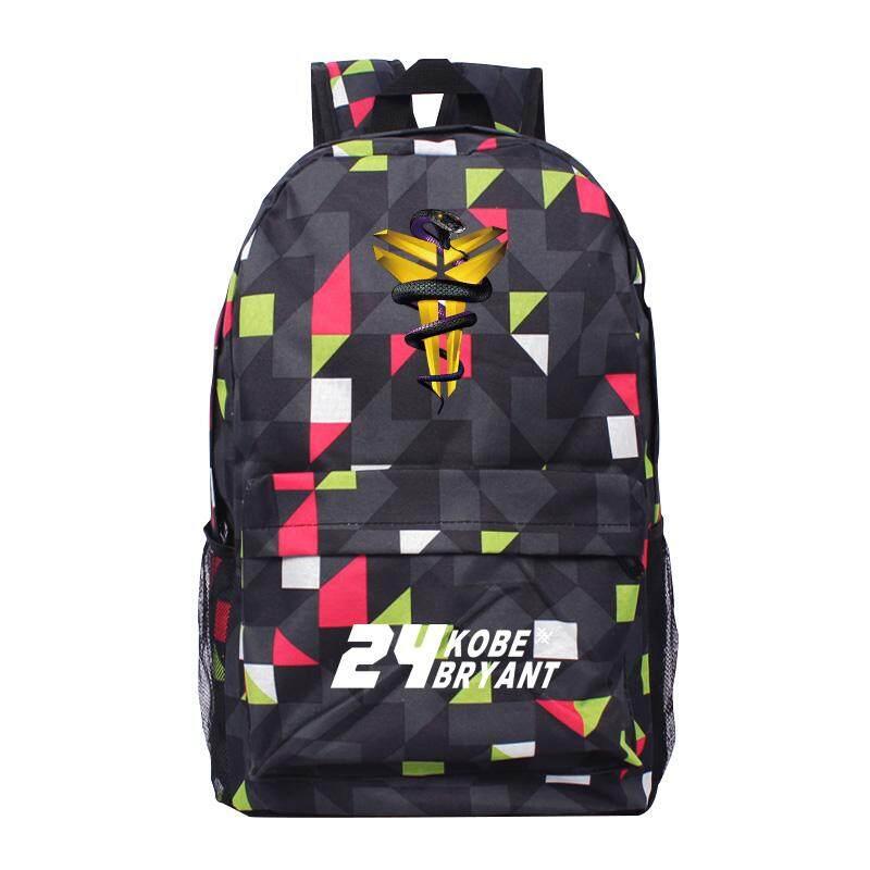 13e27b32a6d4 Xiu luo Backpack man Black Mamba Sports Basketball Backpack Kobe James  School bag bags High School