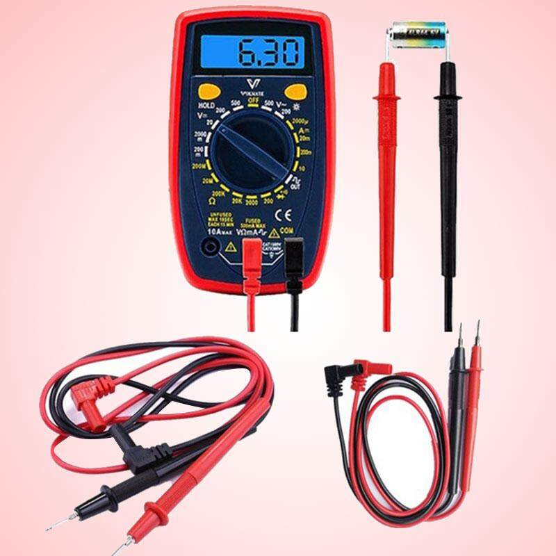Cattree 2018 New Portable Digital Multimeter Measurement Probes Test Probe Electrical Instruments By Cattree.