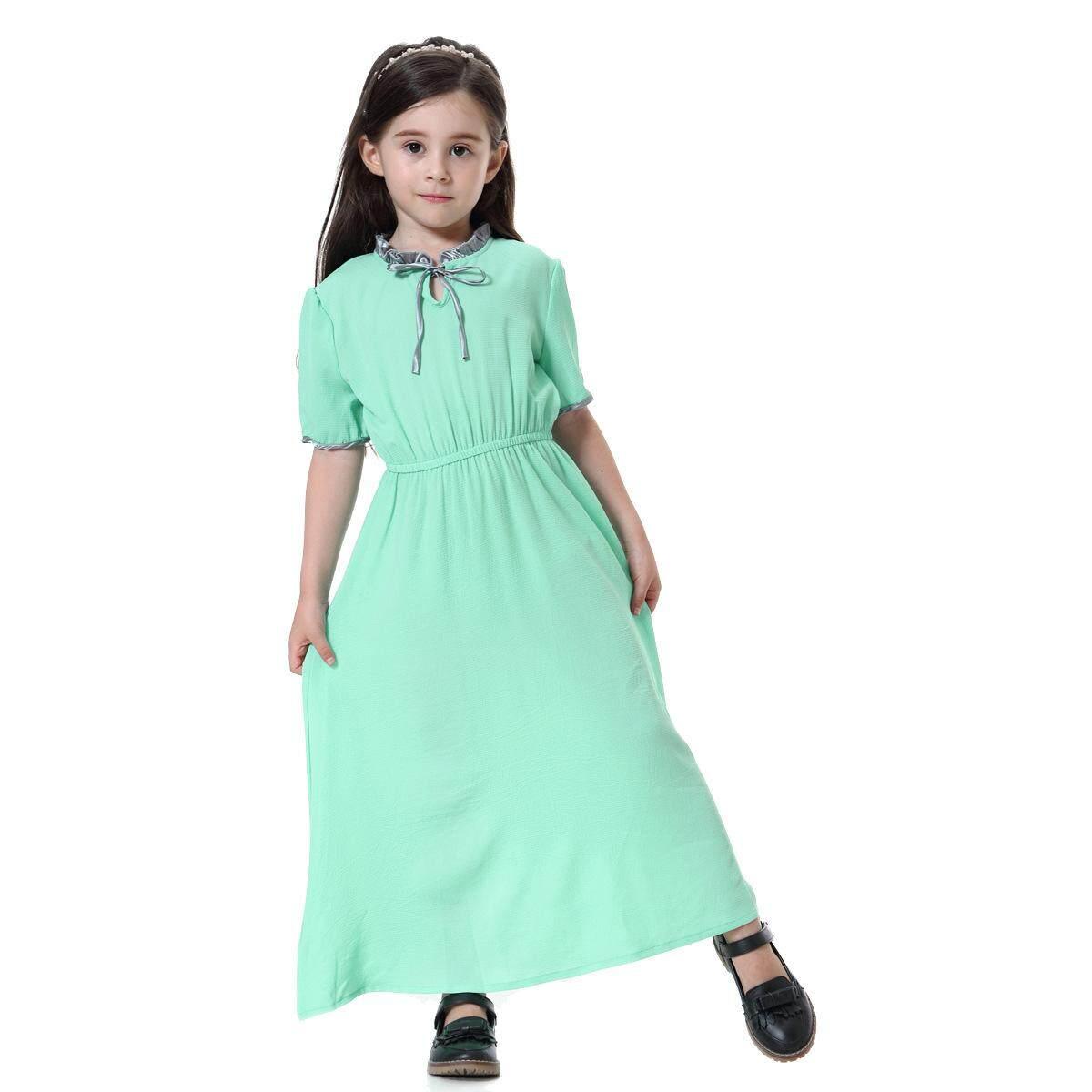 New hot Southeast Asian Muslim girl dress dress