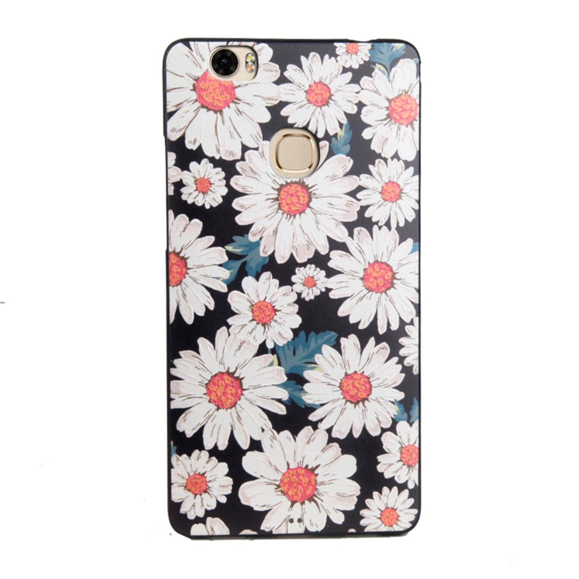 Bogdana for Huawei Honor Note 8 Case Soft TPU 3D Painted Emboss Phone Case (daisy