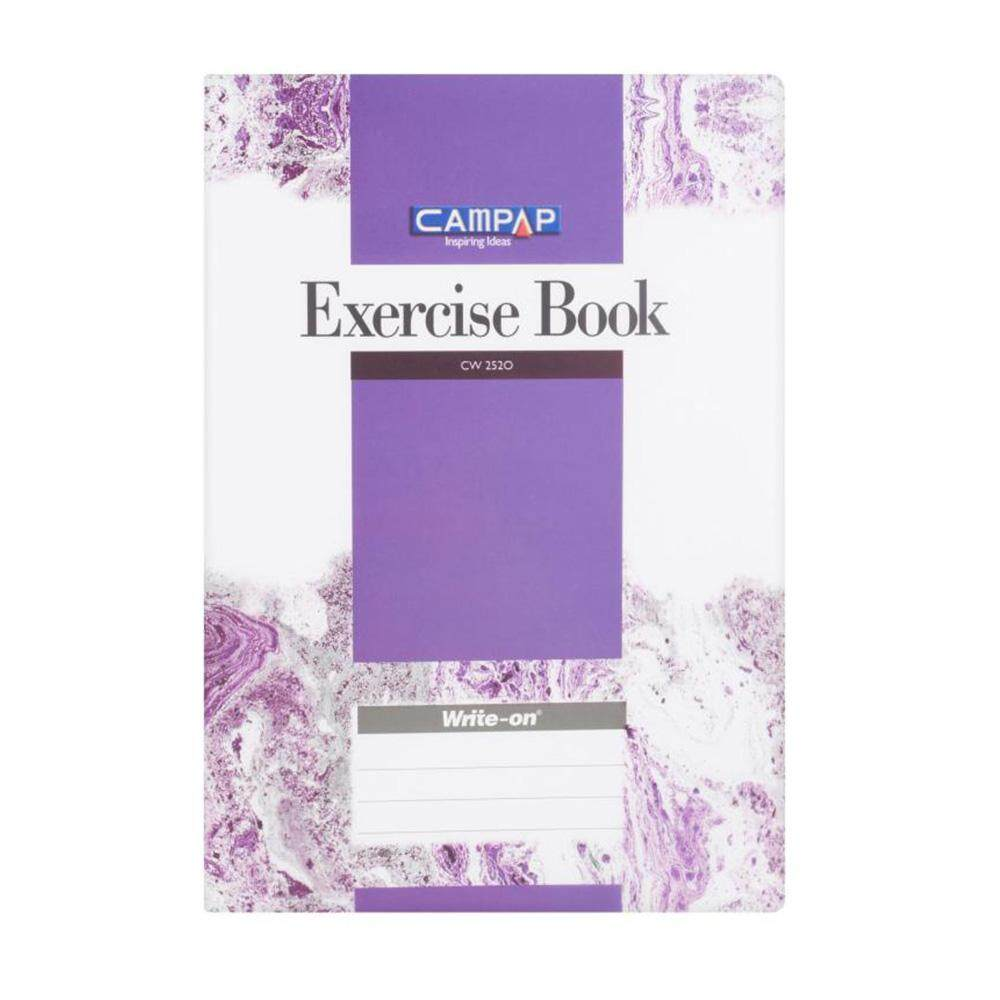 Campap CW2520 A4 PP Exercise Book 200pages