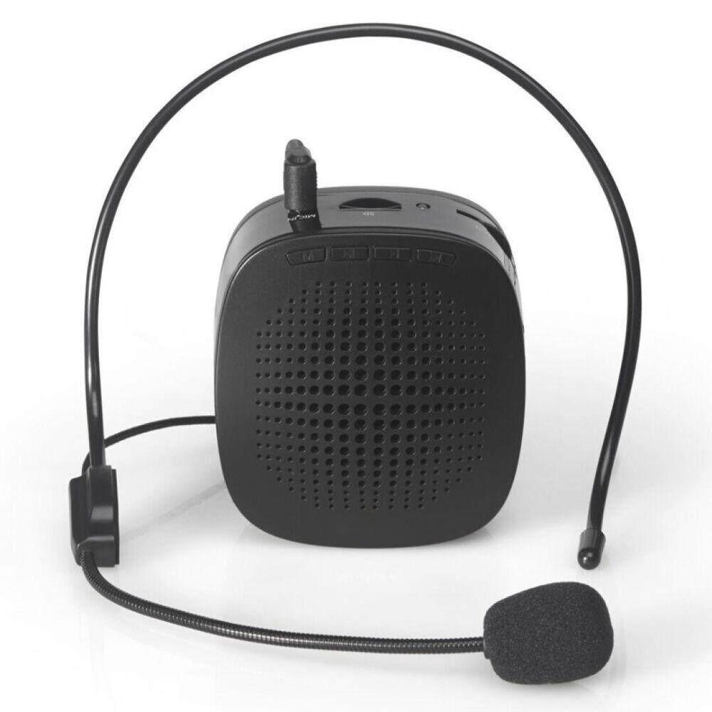 Nierbo Produk Baru Loudspeaker dengan Mikrofon Penguat Suara Booster Megafon Speaker untuk Mengajar Pemandu Wisata Penjualan