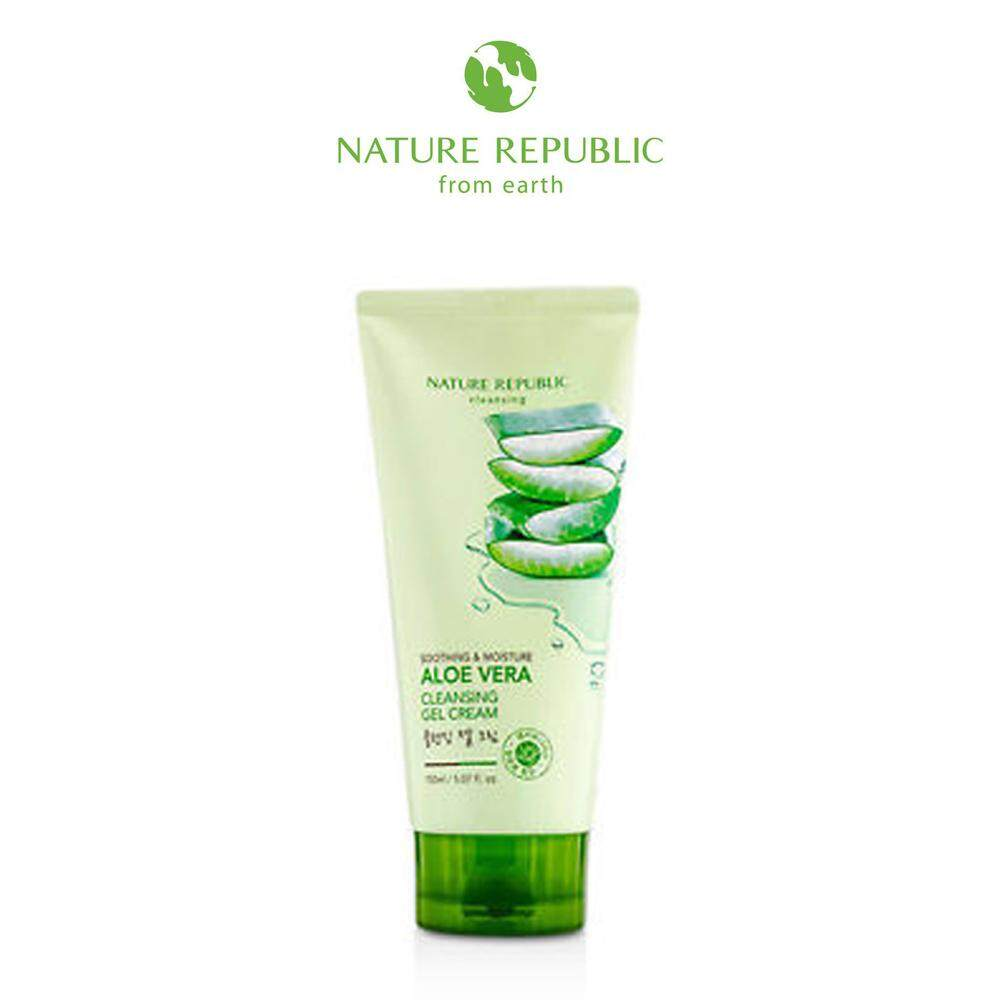 Nature Republic Health Beauty Skincare Price In Malaysia Best Aloe Vera Foam Cleanser Soothing Moisture Cleansing Gel Cream 150ml
