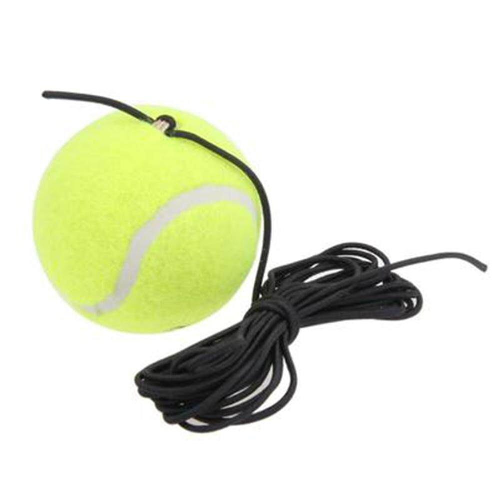 Drill Trainer Single Package Tennis With String Replacement Rubber Woolen Training Ball.