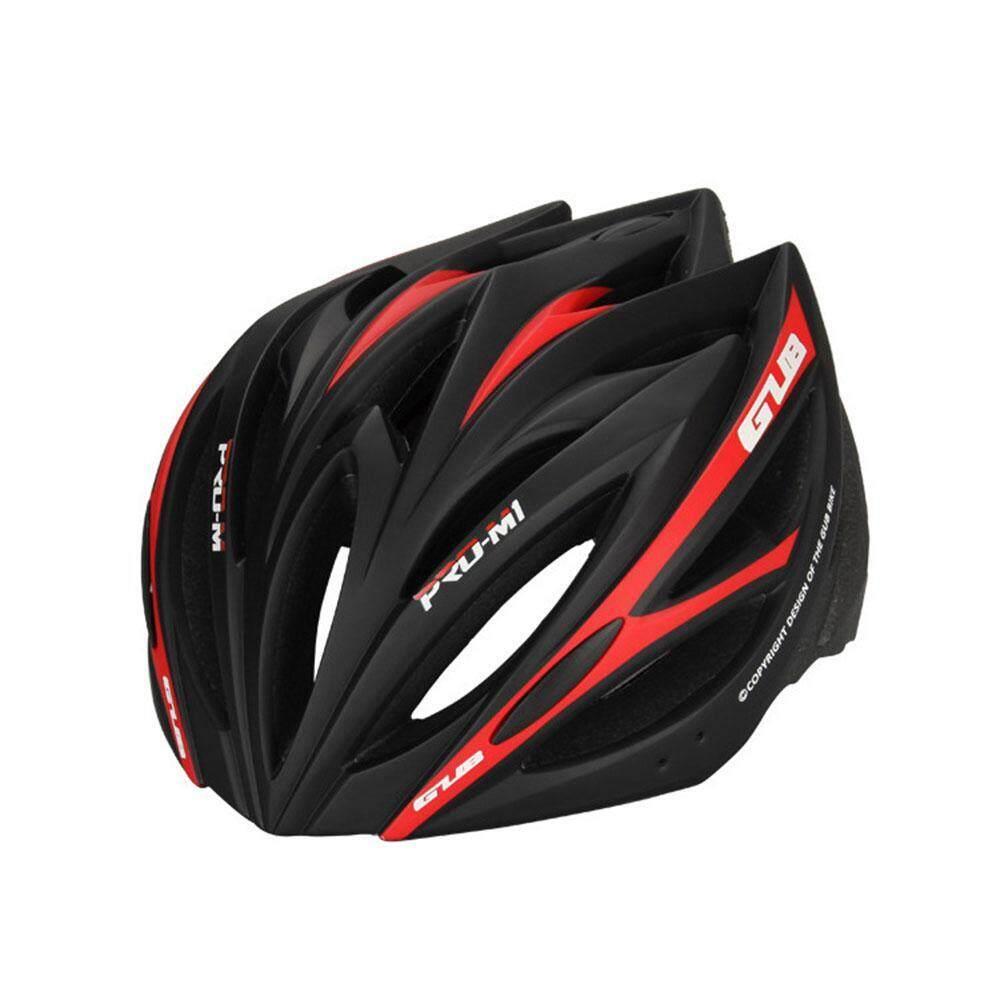 Niceeshop Mtb หมวกกันน๊อคจักรยานเสือภูเขาพร้อมกะบังหน้าหมวกถอดได้, Ultra - Light หมวกนิรภัยจักรยานหมวกนิรภัยสำหรับจักรยานเหมาะสำหรับบุรุษและสตรี - Intl.