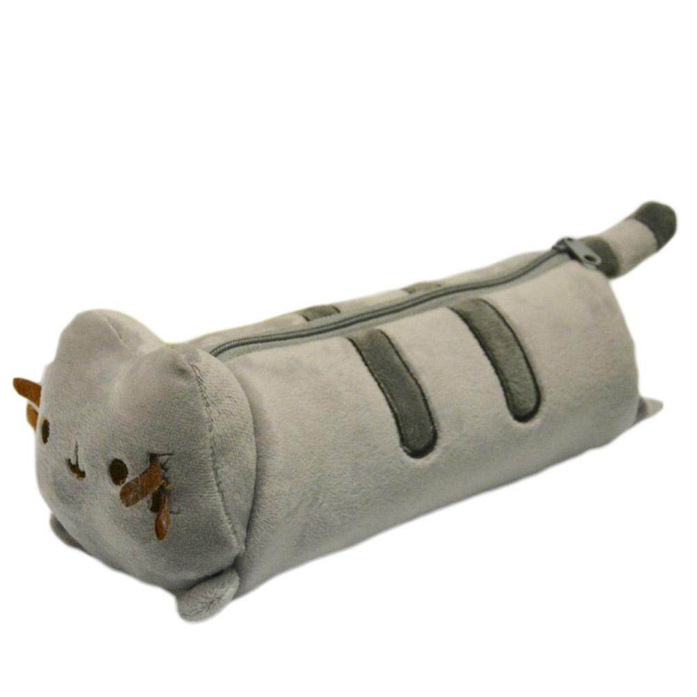 Kuhong Portable Cute Cat Soft Plush Pencil Case Pouch Bag - Intl By Kuhong.