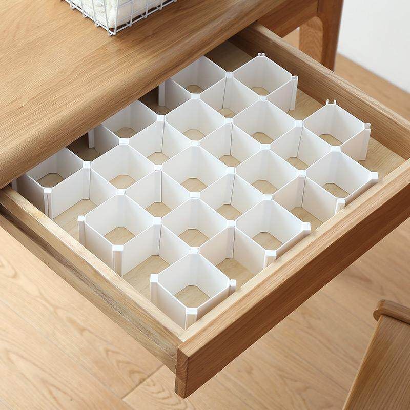 Perwarm (12pcs) DIY The Drawer of The Wardrobe Is Packed with The Partition Board
