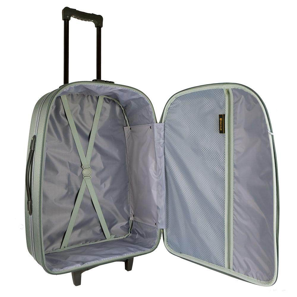 W.Polo BE9806 28inch 2W EVA Softcase Luggage- Grey