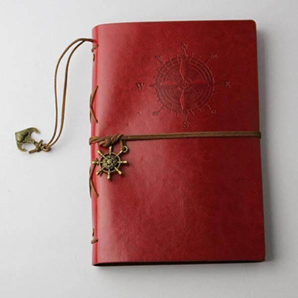 Mua Sổ Tay Xoắn Ốc Retro Nhật Ký Notepad Vintage Pirate NEO PU Leather Note Book Cho Tạp Chí Du Lịch