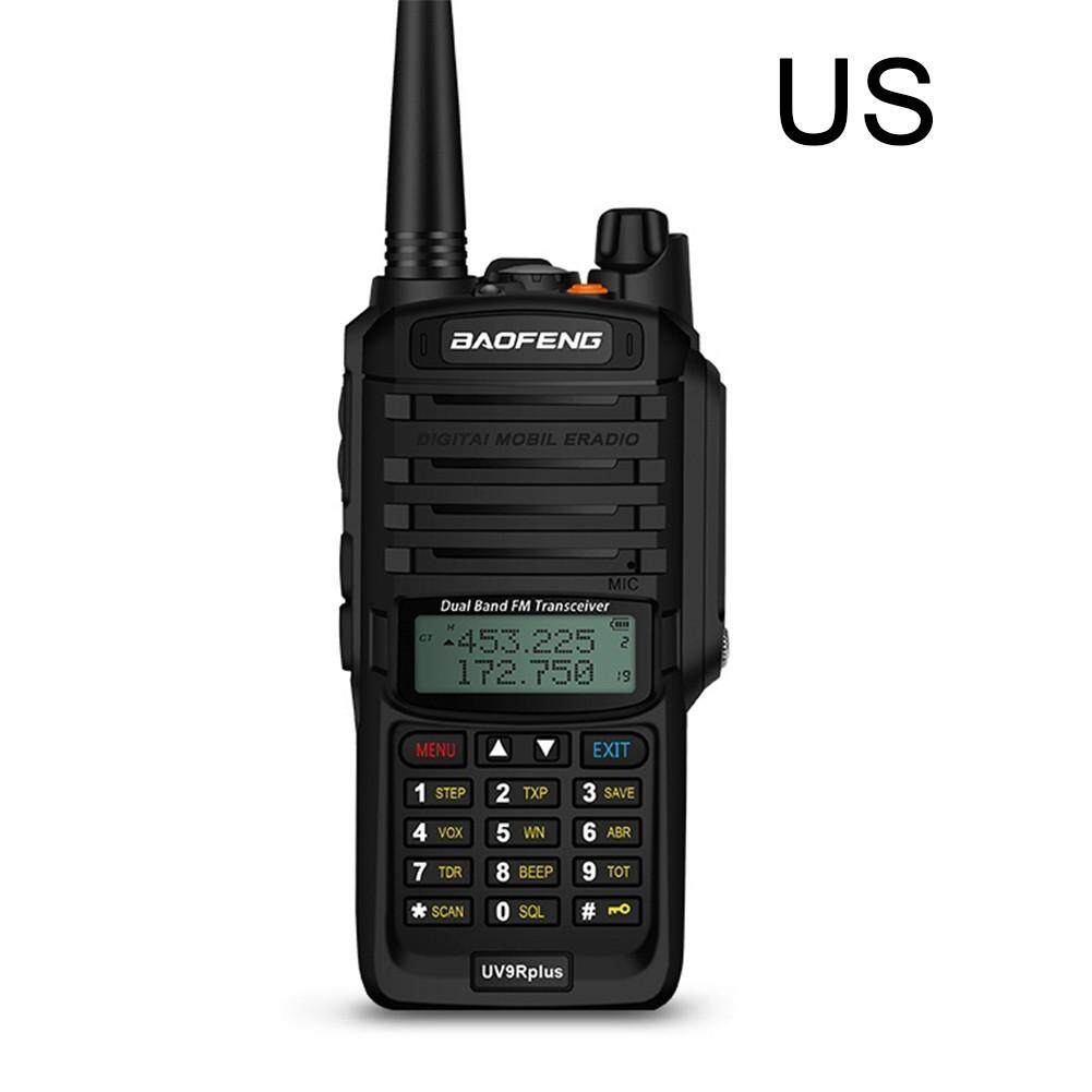 Baofeng Uv-9r Plus Walkie Talkie Radio Cb 8 W High Power Vhf Uhf Perangkat Genggam Dua Gelombang Radio 10km Panjang Rentang Tahan Air Fm Diy Protable Transceiver Digital By Storeshop.