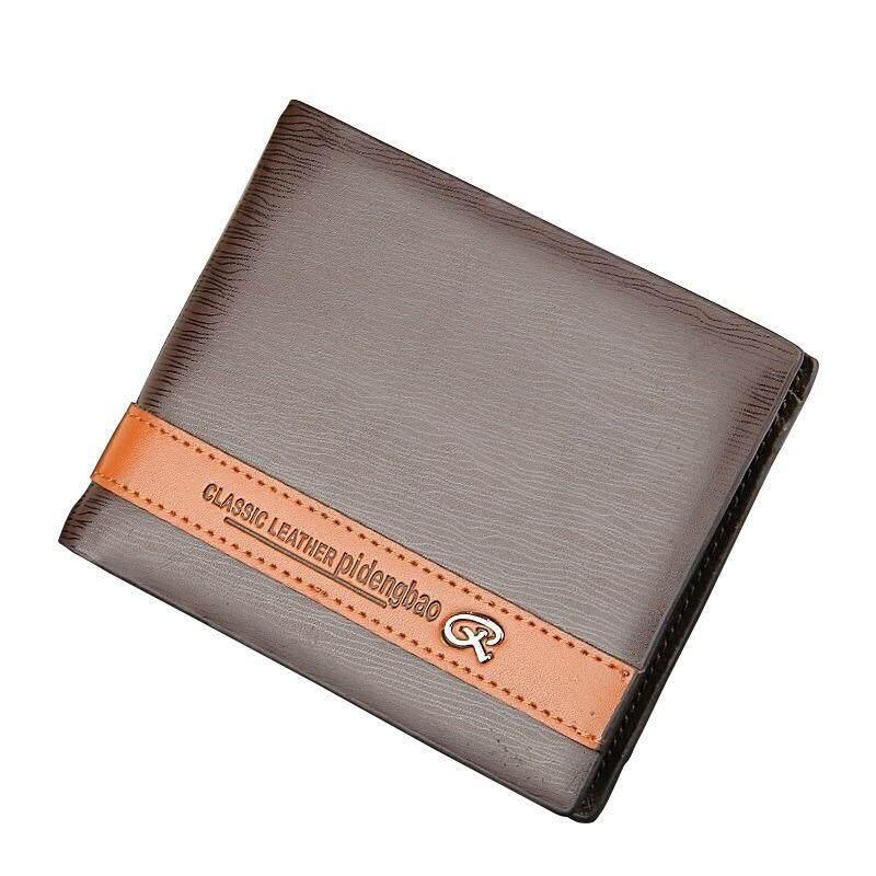 Original Pidengbao WLT-018 AP018 Premium Leather Men Short Wallet