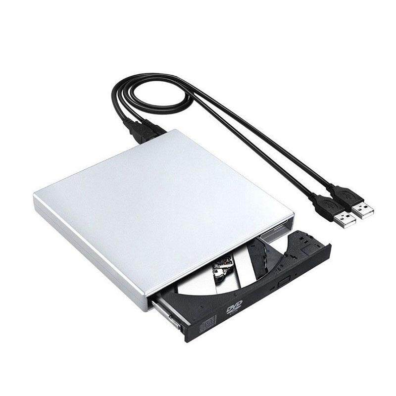 USB External DVD CD RW Disc Writer Player Drive for PC Laptop