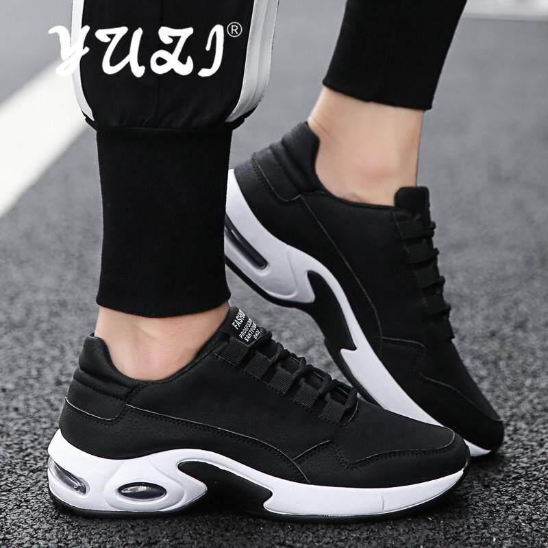 Yuzi Profesional Sepatu Olahraga Bernapas Bantalan Bantal Pria Sepatu Lari  Luar Ruangan . b604eea17f