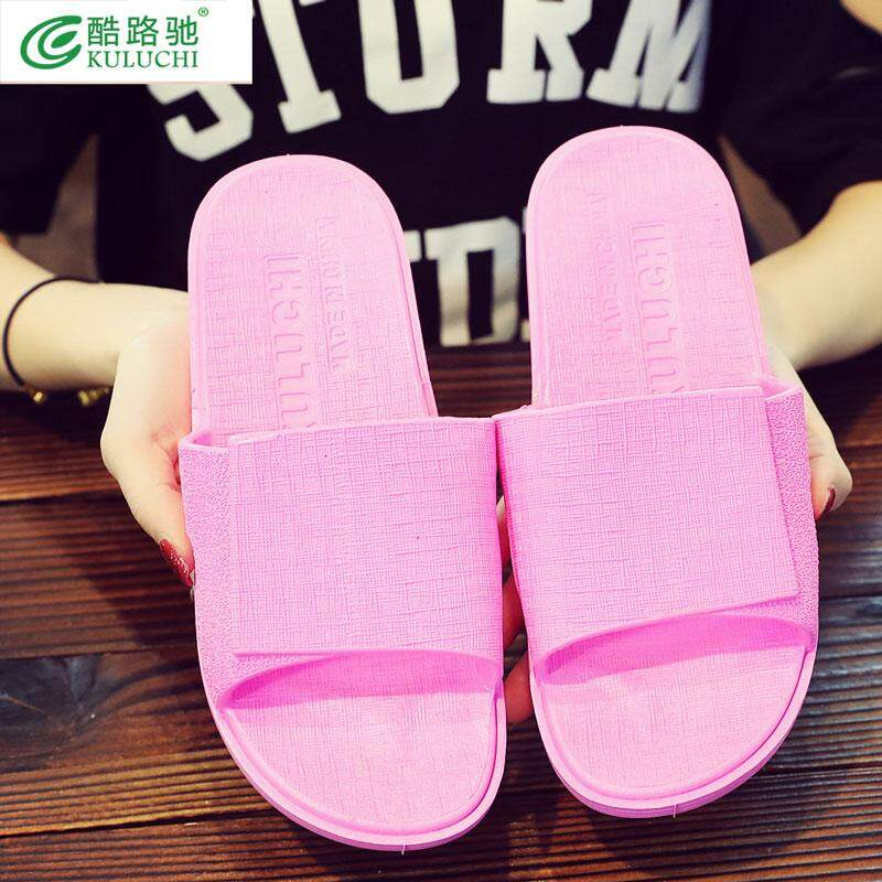 0b7e0ef01 2018 new personality sweetheart slippers home bathroom antiskid sandals  male slippers women summer fashion outside the