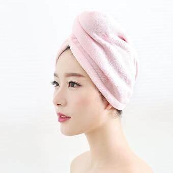 Beli sekarang Maryya topi rambut kering yang kuat menyerap air rambut kering  Korea Selatan dewasa Imut Lebih tebal topi mandi menggosok rambut cepat  kering ... 032f180d1c
