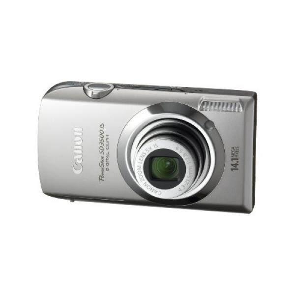 Canon PowerShot SD3500IS 14.1 Kamera Digital MP dengan 3.5-Inch LCD Panel Sentuh dan 5x Ultra Wide Angle Gambar Optik Stabil Zoom (perak)