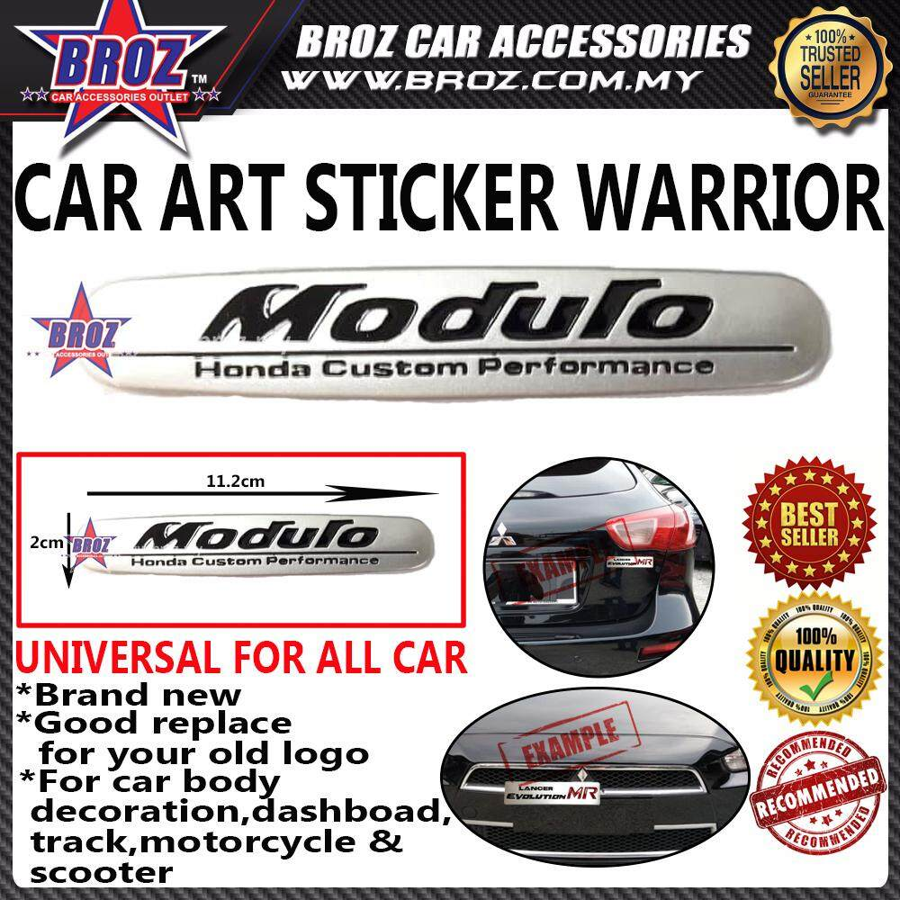 Honda Modulo Car Art Sticker Warrior