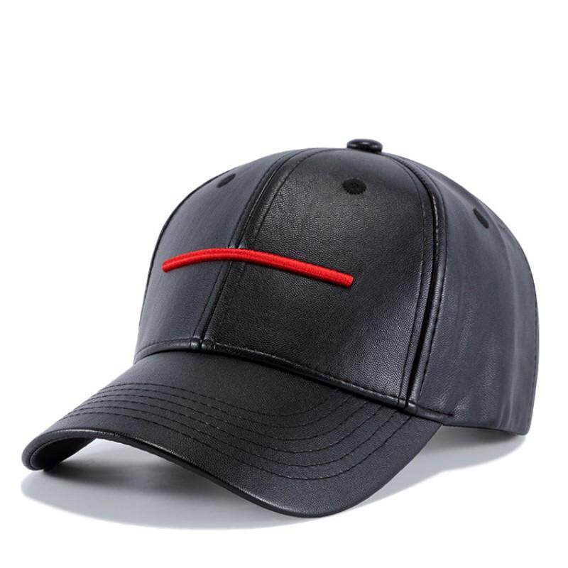efd5bffe6ba Wuke PU Baseball Caps for Men Snapback Hats Womens Cap Fashion Embroidery  Hip-pop Adjustable