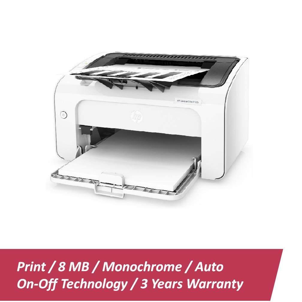HP Mono LaserJet Pro M12w Printer - (T0L46A)