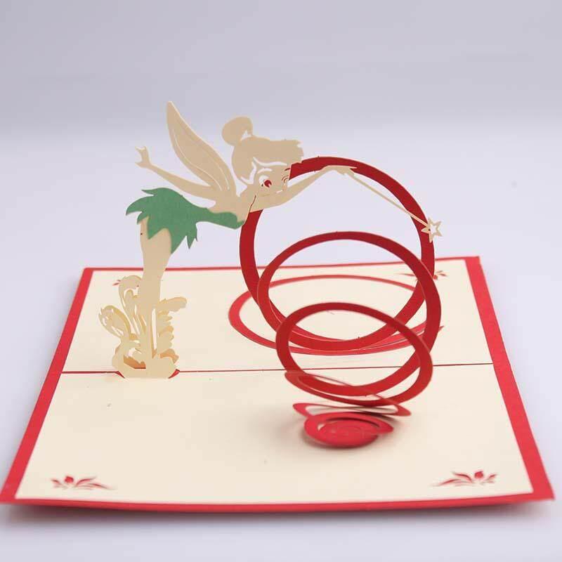3D Fairy Tale Card