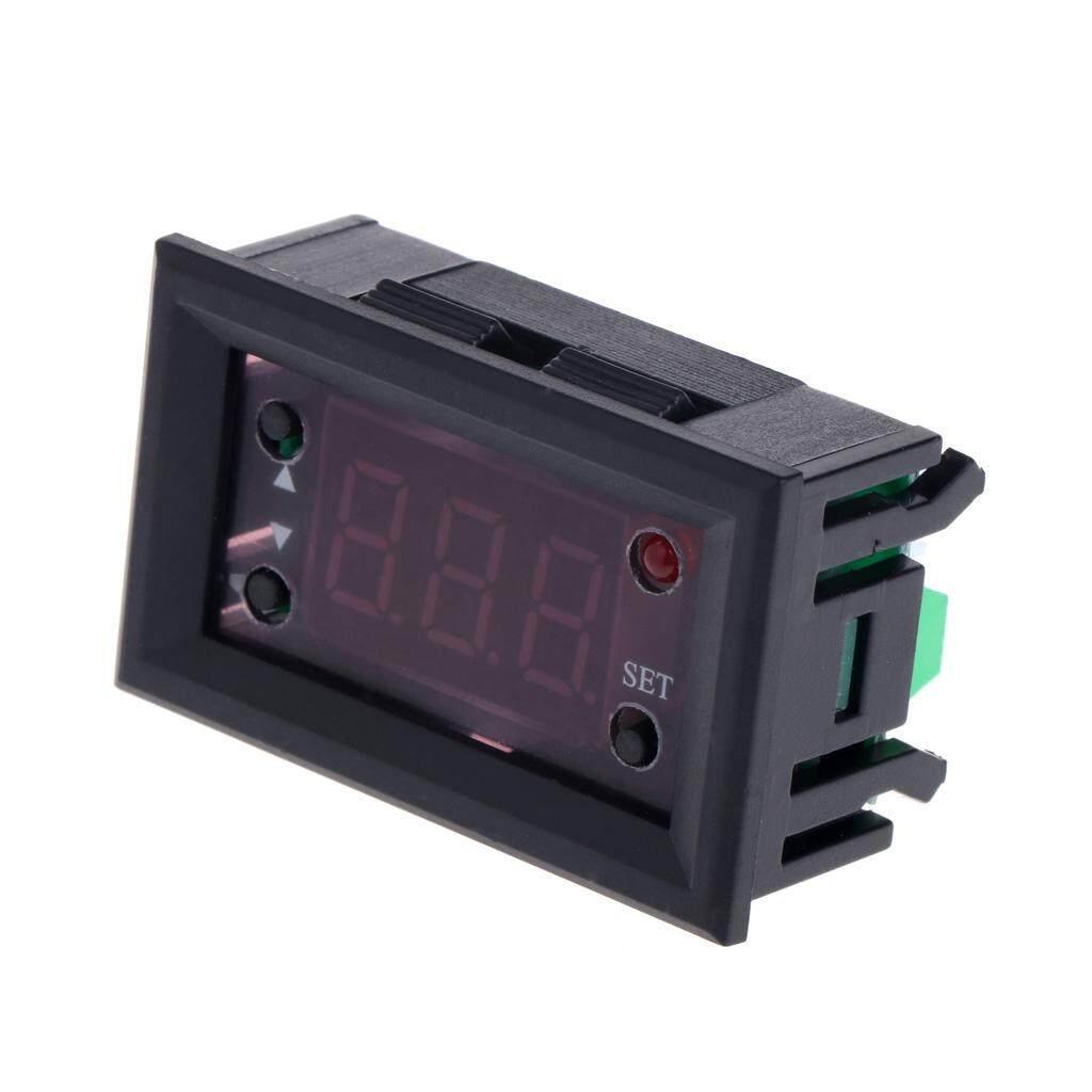 W1218 Termostat Digital DC12V Pengatur Suhu untuk Inkubator dengan Probe Merah-Intl .