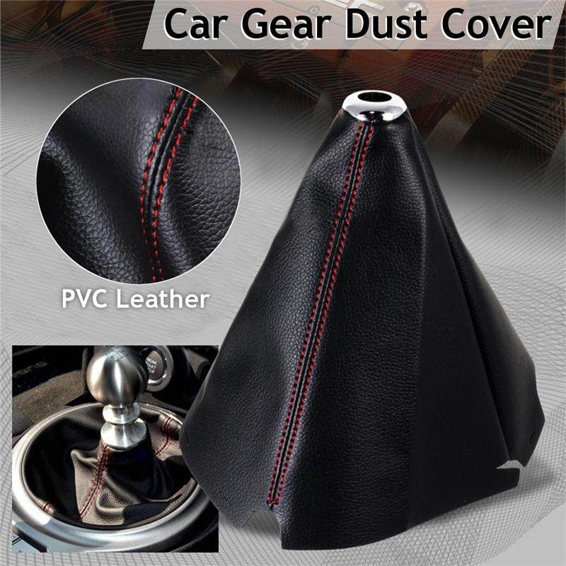 Gear Shift Knob Shifter Boot Cover Gear Mt/at Automatic/manual Car For Jdm Ford - Intl By Audew.