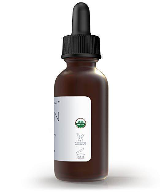 Foxbrim Pure Organic Argan Oil for Hair, Skin, Face & Nails - 100% Natural From Morocco - Virgin Cold Pressed - 2 fl. oz.