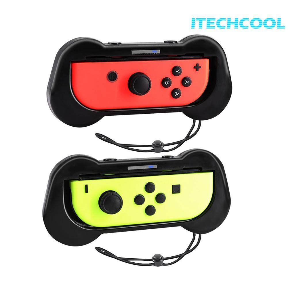 Hình ảnh 2pcs Joy-con Grips Gamepad Jostick Handle Controller Bracket for Nintendo Switch