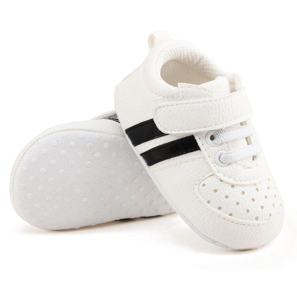 Toddler Girls Boys Crib Shoes Prewalker Soft Sole Sneakers 935d3824d