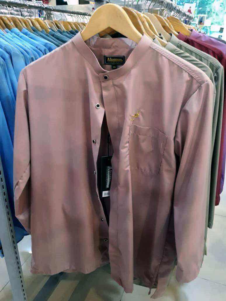 Al-Haraman Kurta Fashion 6 Colours Peach Pink