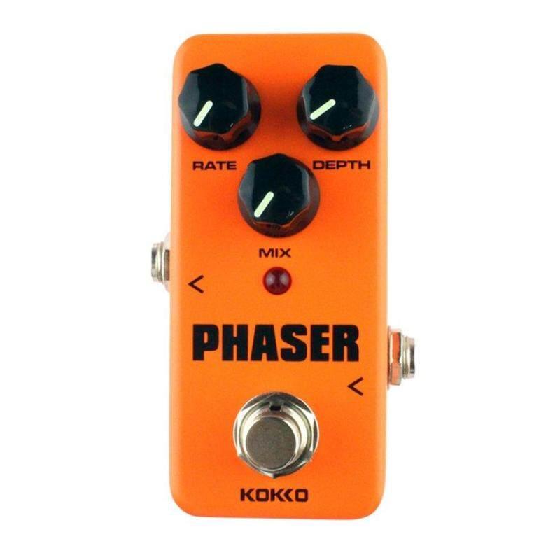 KOKKO  FPH2 Phaser Mini Guitar Effect Pedal Warm Analog Phase Sound Processor Orange