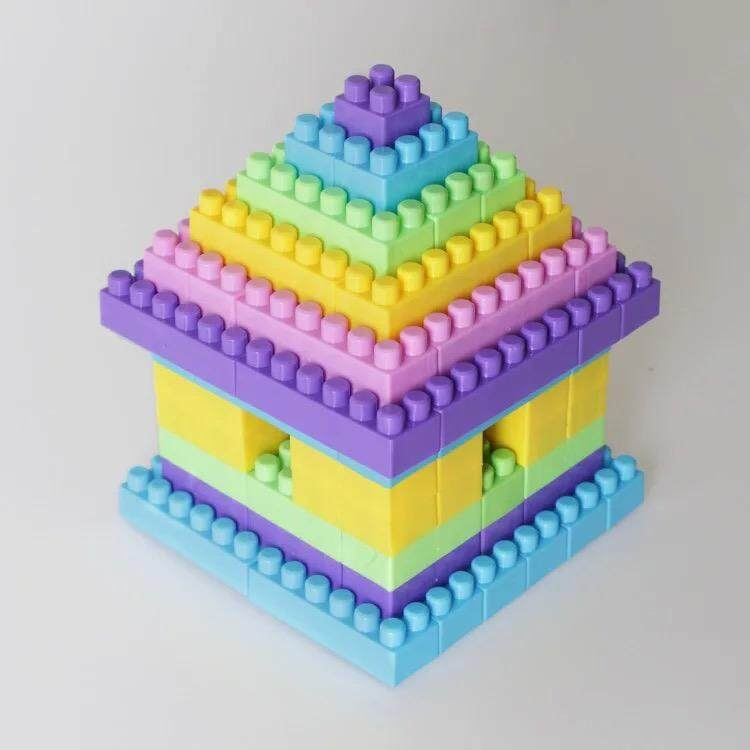 SS 135 pcs block for baby and toddlers , early educational toy
