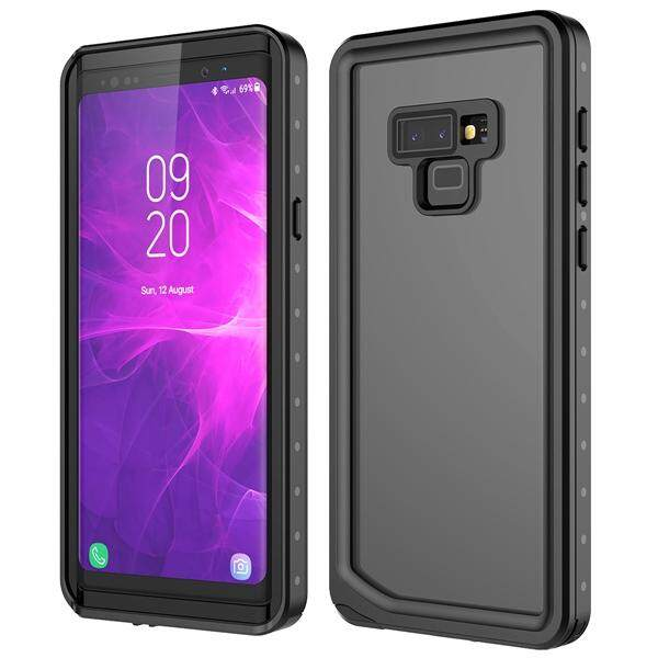 Moonmini Case for For Samsung Galaxy Note 9 Case 360 Degree Protection Waterproof Dustproof Shockproof Back