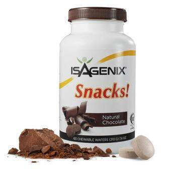 Isagenixs (100% Natural) Snacks Natural Chocolate (210 g) 60 chewable wafers
